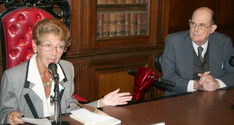 Hortensia Gutiérrez Posse y Andrés D´Alessio