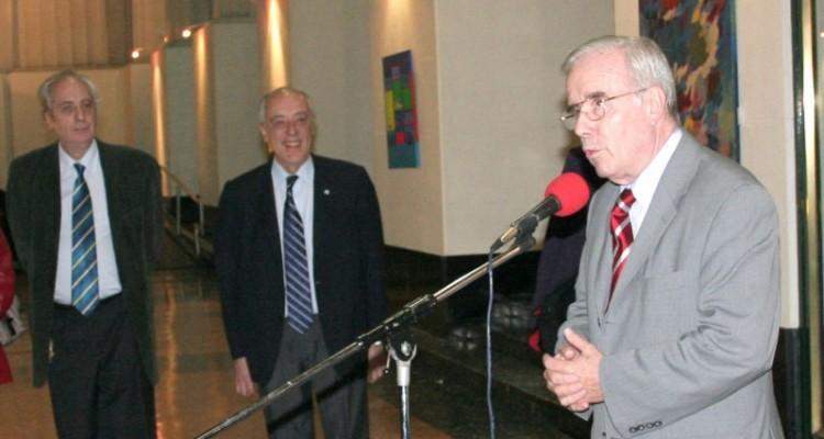 Eduardo Barbarosch, Atilio Alterini y Tulio Ortiz