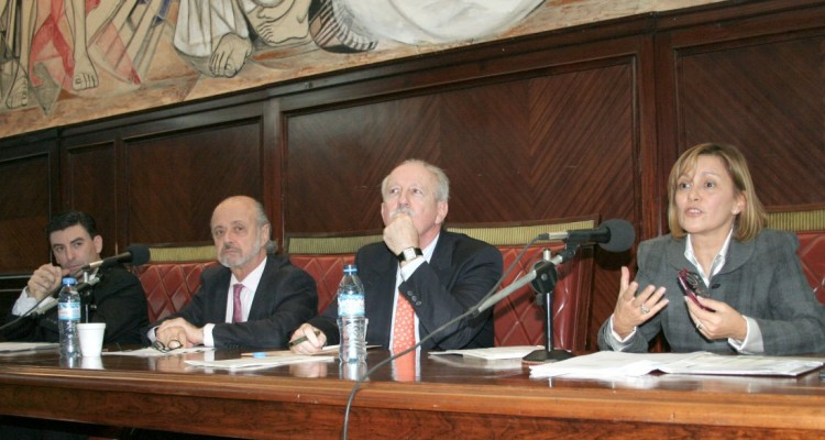 Carlos Camps, Eduardo Sirkin, Jorge L. Kielmanovich y Mabel de los Santos