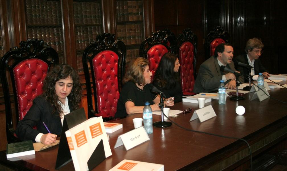 Mary Beloff, Zulita Fellini, Marisa Graham, Gustavo Vitale y Horacio Corti