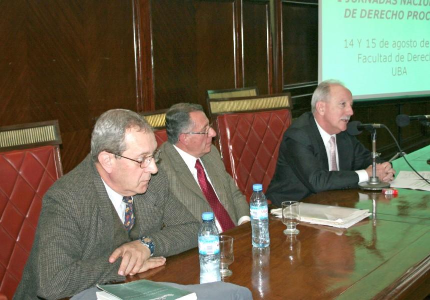 Enrique M. Falcón, Roberto Berizonce y Jorge L. Kielmanovich