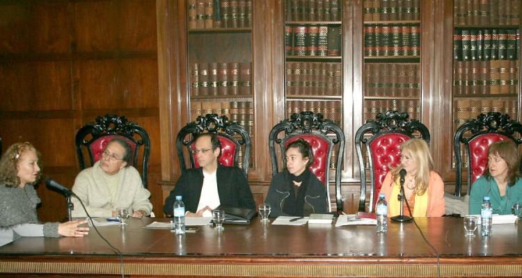 Zulma García Cuerva, Carlos Porley, Gerardo Feldstein, Andrea Lamas, Mónica Rizzi y Esmeralda Laclau