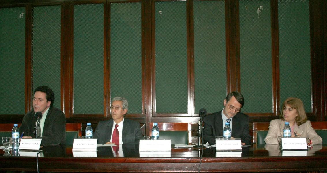 Manuel Ruiz Muller, Carlos M. Correa, Jérôme Fromageau y Sandra C. Negro