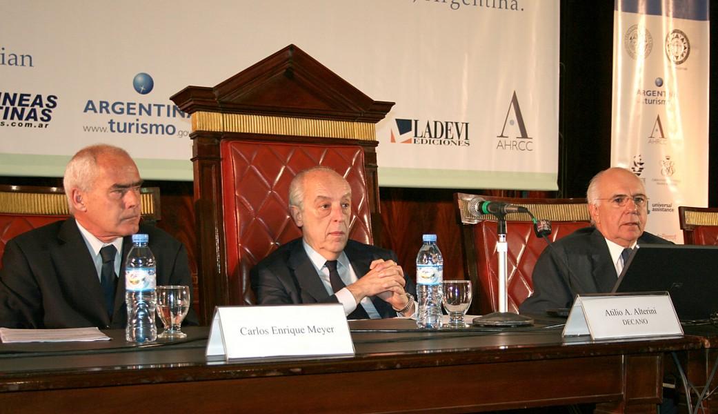 Carlos Enrique Meyer, Atilio A. Alterini y Juan Carlos Fairstein