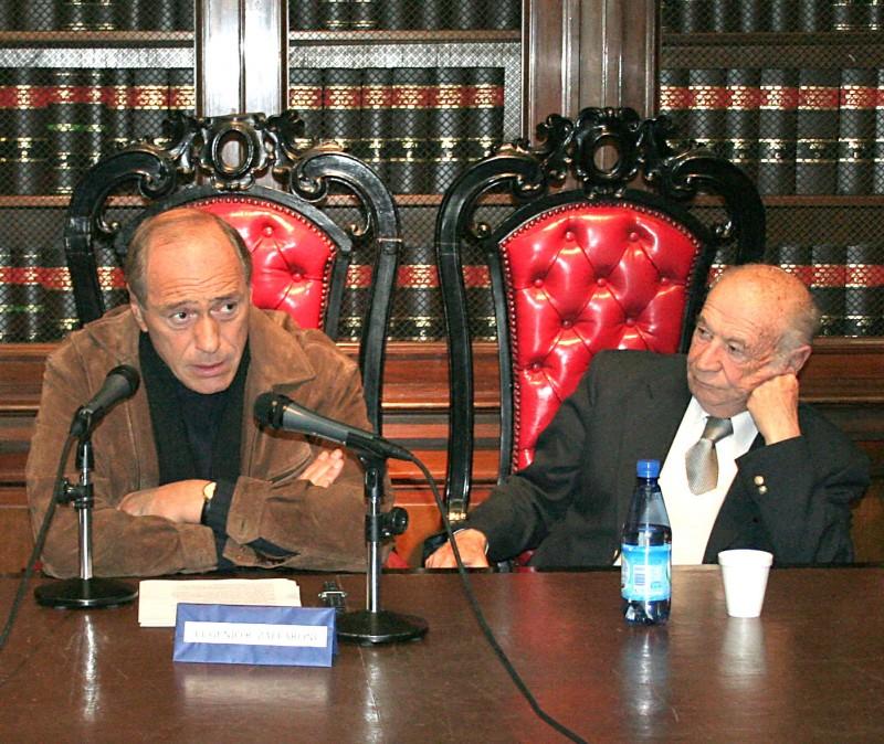 Eugenio R. Zaffaroni y David Baigún