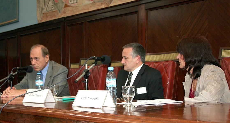 Eugenio R. Zaffaroni, Carlos J. Lascano (h) y Lucila Larrandart
