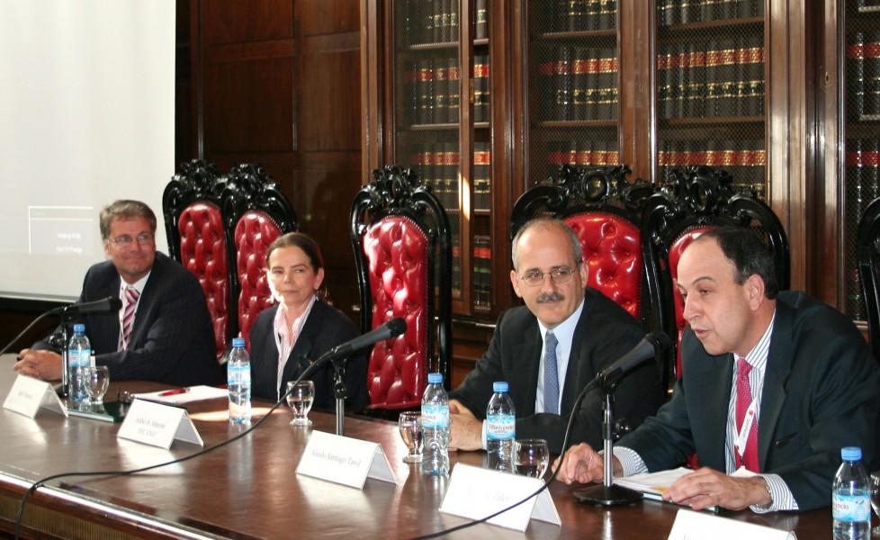 Philip Habegger, Sally Harpole, Guido S. Tawil y Eduardo Zuleta Jaramillo