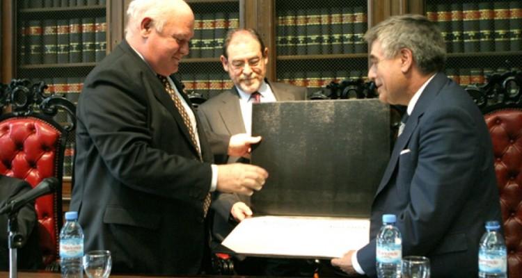 Rubén Hallú, Juan Ignacio Echano y Ricardo de Ángel Yágüez