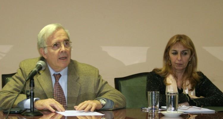 Tulio Ortiz y María del Carmen Maza