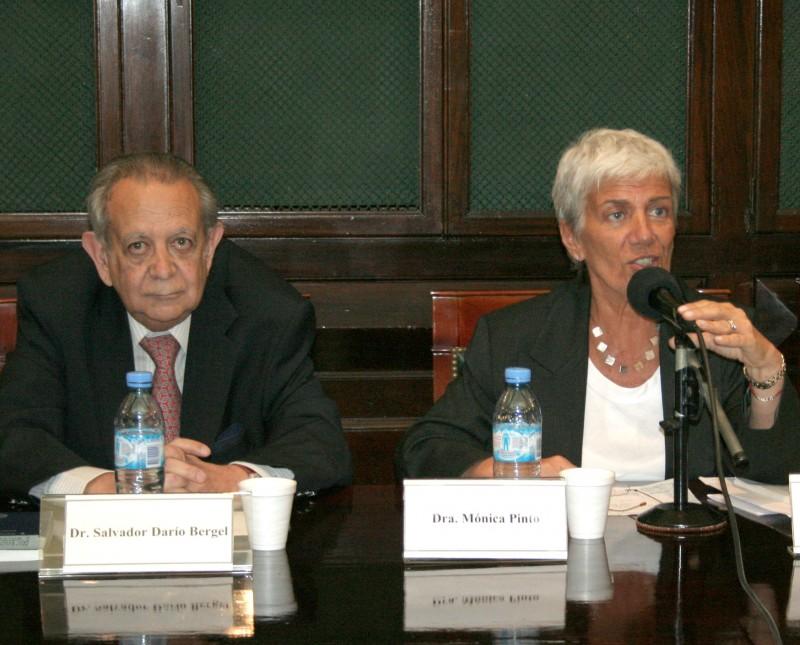 Salvador D. Bergel y Mónica Pinto