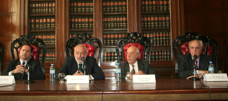 Alejandro Sudera, Mario E. Ackerman, Atilio A. Alterini y Eduardo Barbarosch