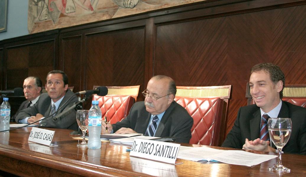 José Luis Shaw, Lucas Liendro Kapustik, José O. Casás y Diego Santilli