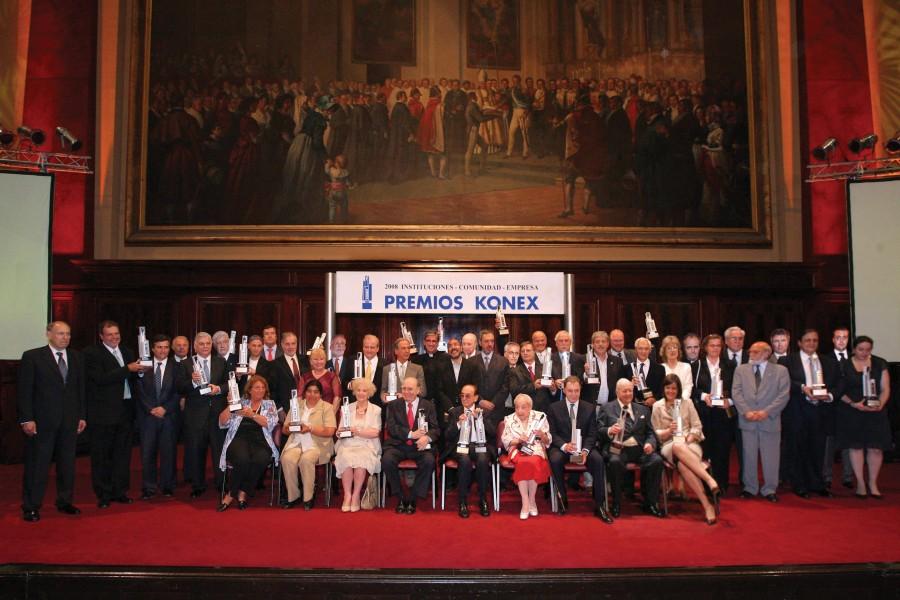 Acto culminatorio de los Premios Konex 2008 - Instituciones-Comunidad-Empresa