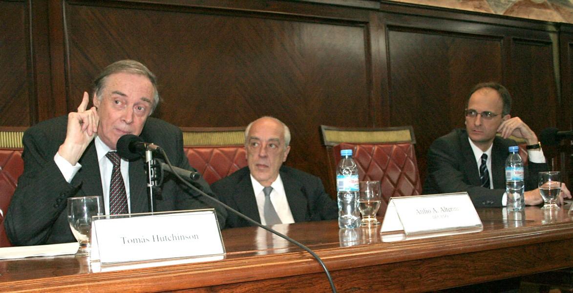 Tomás Hutchinson, Atilio A. Alterini y Carlos F. Balbín