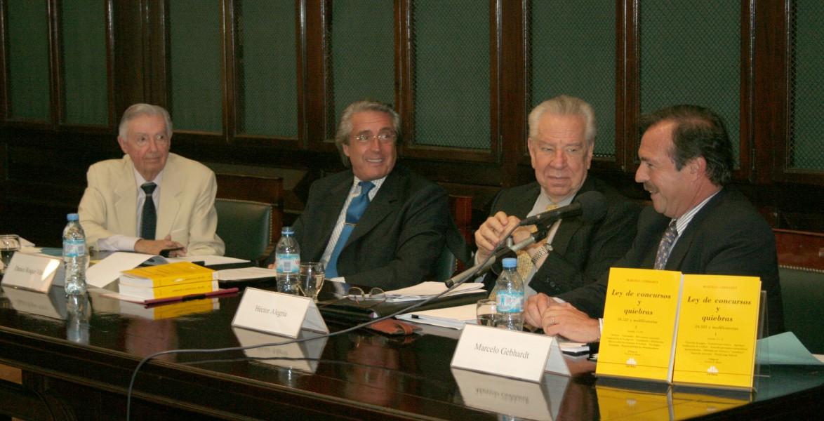 Ariel A. Dasso, Daniel R. Vítolo, Héctor Alegría y Marcelo Gebhardt