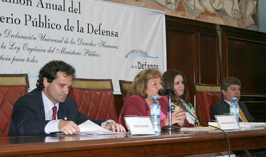 Patricio Giardelli, Stella Maris Martínez, María Fernanda López Puleio y Gabriel Torres