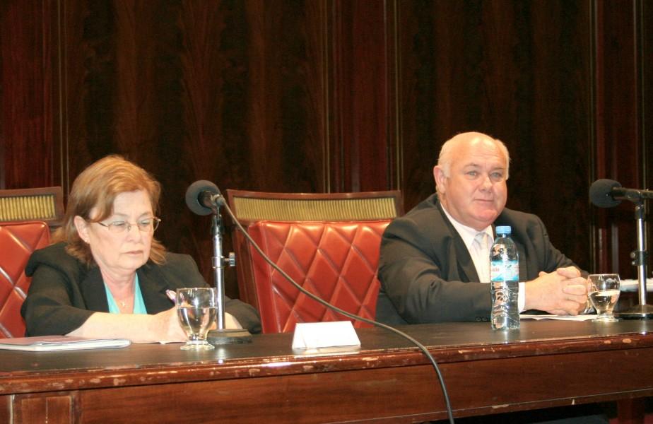 Edith Litwin y Rubén Hallú