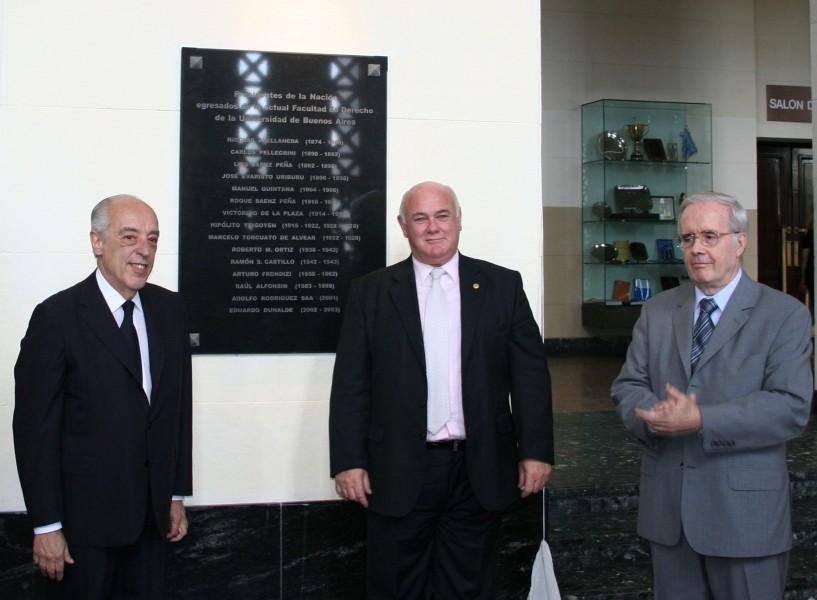 Atilio A. Alterini, Rubén Hallú y Tulio Ortiz