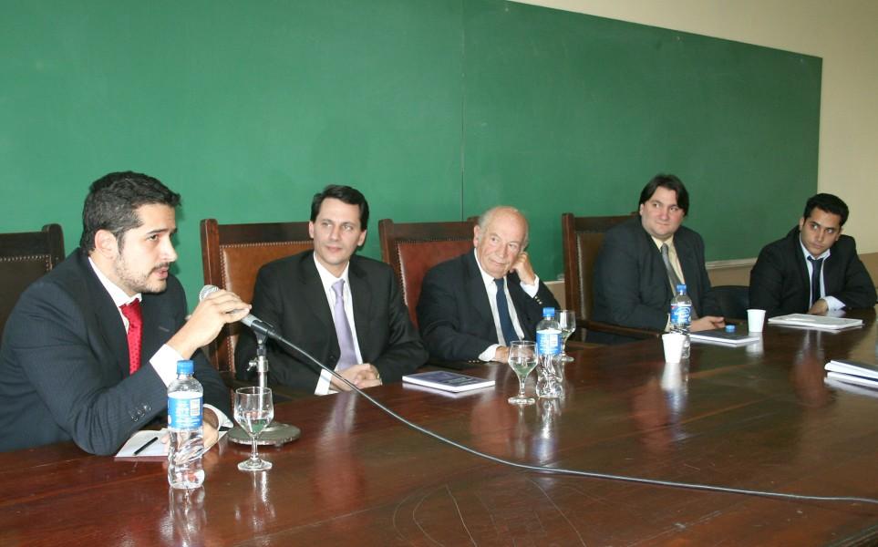 Sebastián Del Gaizo, Alejandro Catania, David Baigún, Norberto Berner y Hernán Del Gaizo