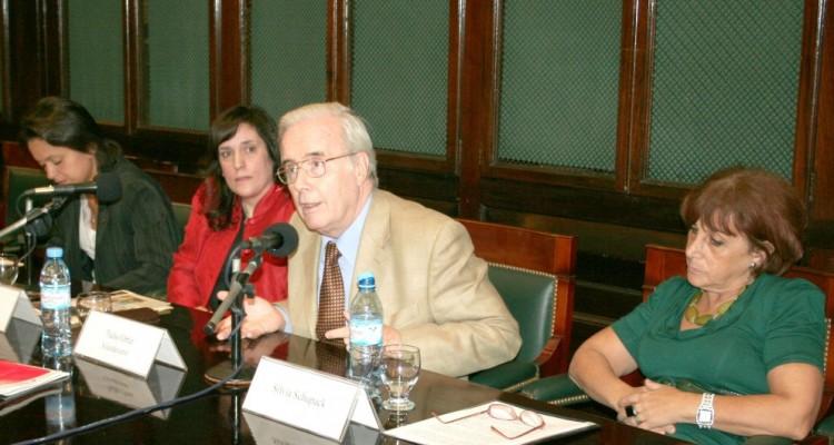 Carolina Ghioldi, Patricia Sorokin, Tulio Ortiz y Silvia Schupack