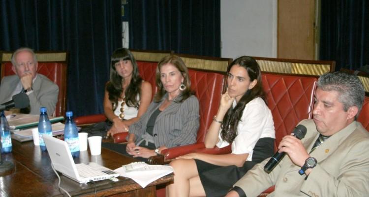 Jorge L. Kielmanovich, María Victoria Famá, Graciela Ferreyra, Marisa Herrera y Diego Benavides Santos