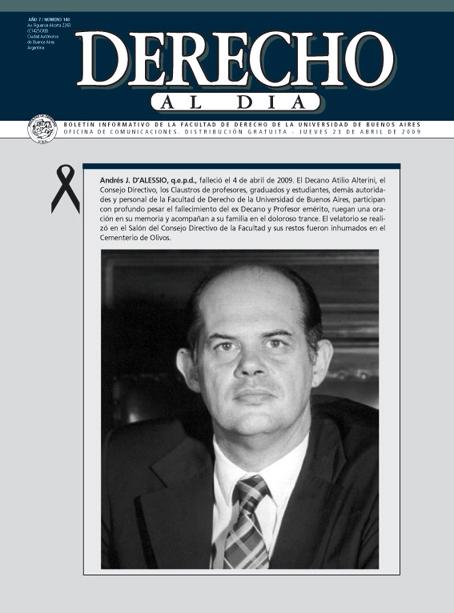 Tapa de Derecho al Día - Edición 140