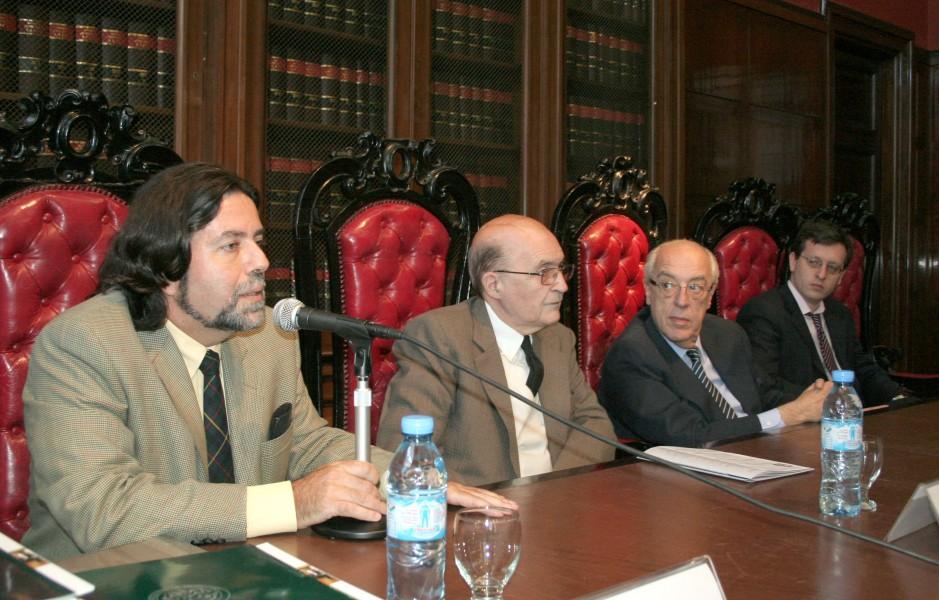 Ricardo Rabinovich-Berkman, Miguel Ángel Ciuro Caldani, Atilio A. Alterini y Lucas Bettendorff