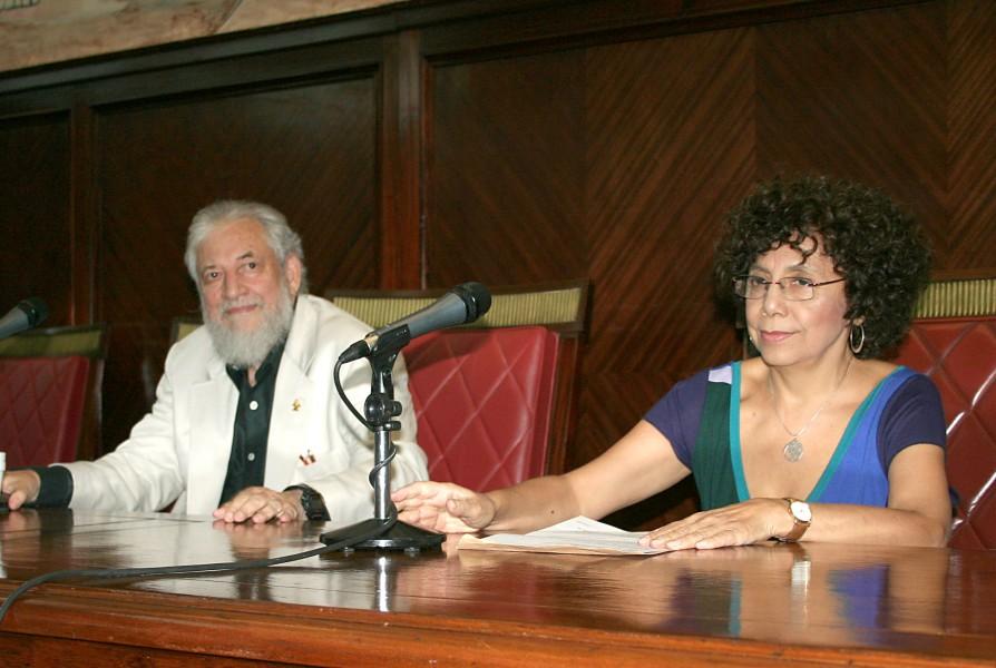 Claudio Naranjo y Lidia Grammático