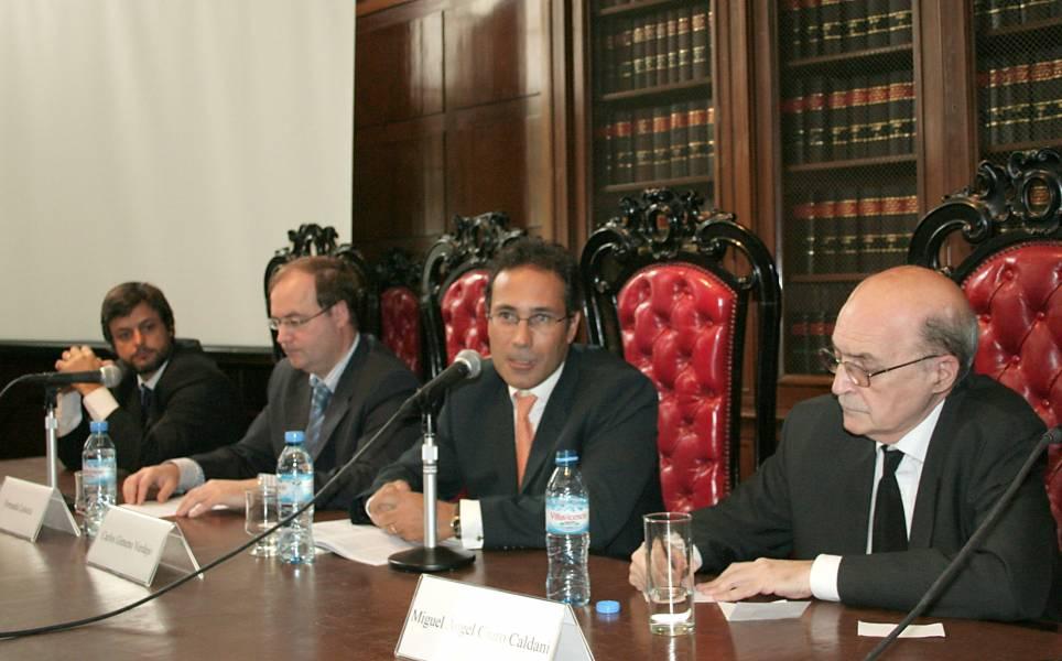Gonzalo Álvarez, Fernando Laiseca, Carlos Gimeno Verdejo y Miguel Ángel Ciuro Caldani