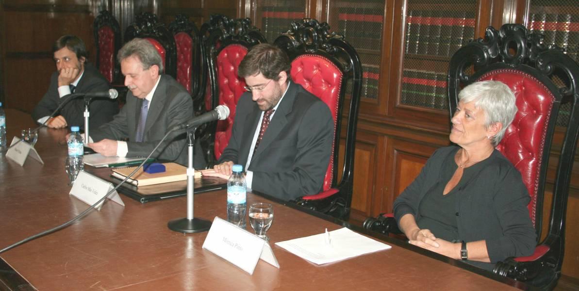Gonzalo Álvarez, Mauro Palma, Carlos Mas Velez y Mónica Pinto