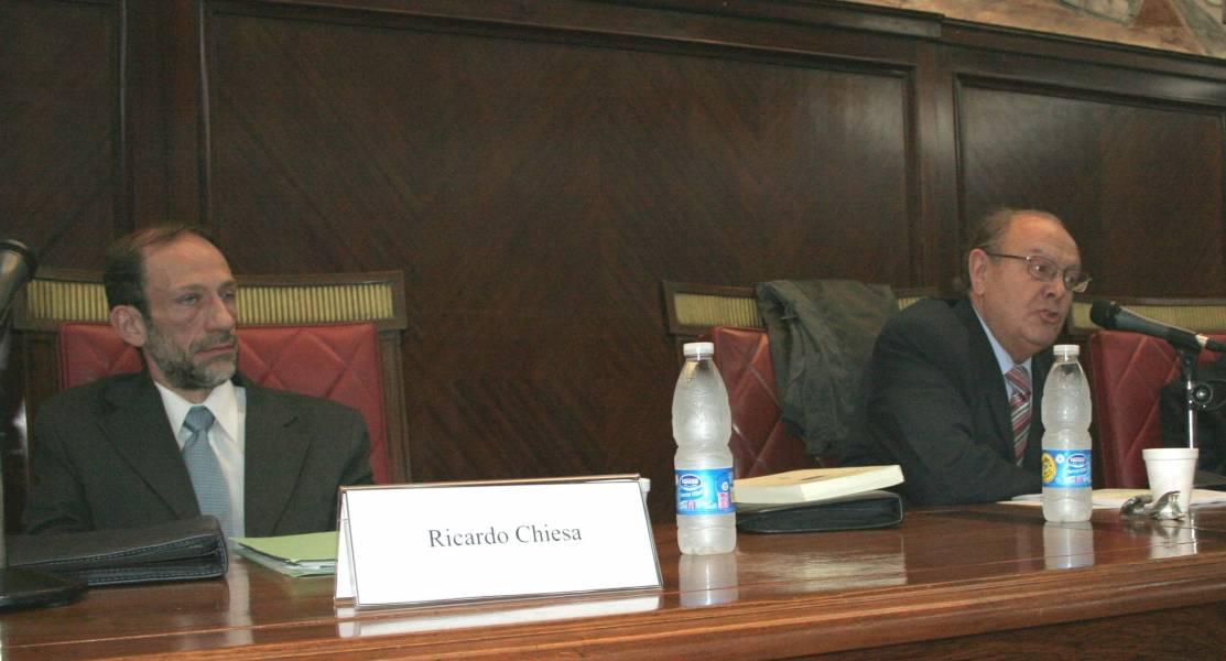 Ricardo Chiesa y Pedro Luis Barcia