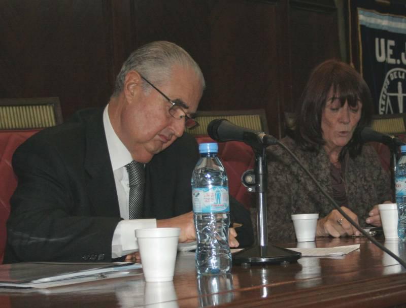 Esteban Righi y Lucila Larrandart