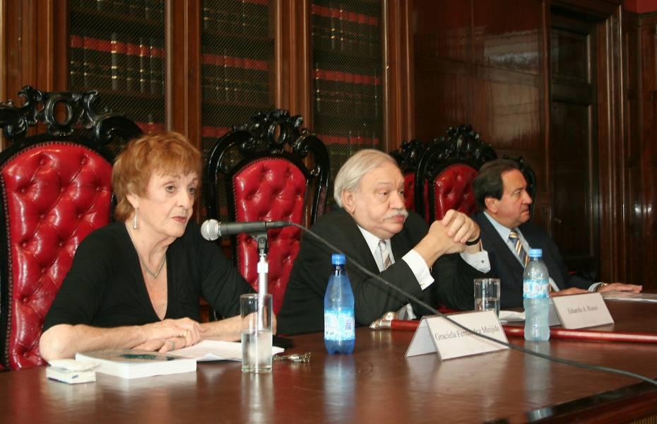 Graciela Fernández Meijide, Eduardo Russo y León Arslanian