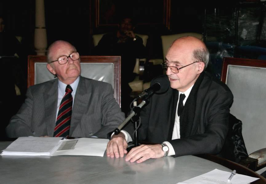 Daniel Altmark y Miguel Ángel Ciuro Caldani