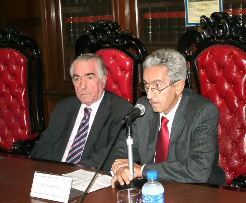 Néstor Stancanelli y Carlos M. Correa