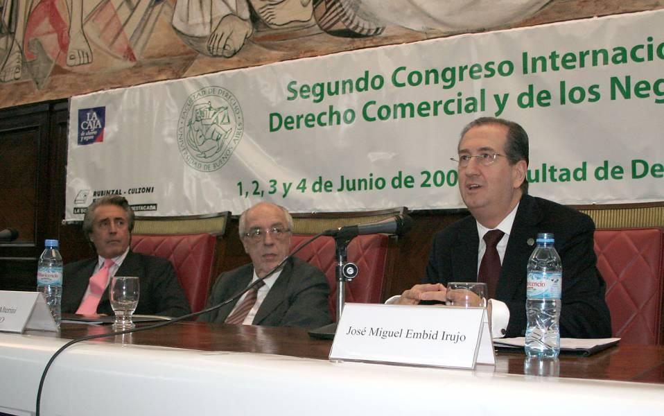 Daniel R. Vítolo, Atilio A. Alterini y José Miguel Embid Irujo