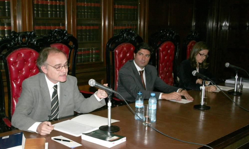 Rafael Rebollo, Alejandro Slokar y Miriam Cugat