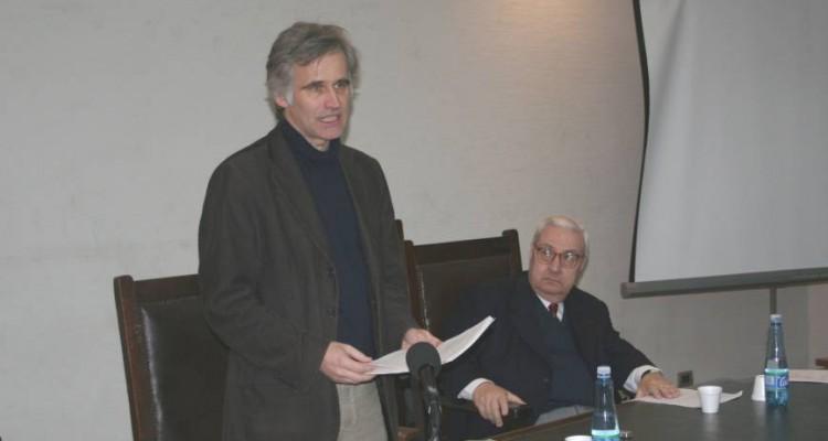 Jan-Reinard Sieckmann y Ricardo A. Guibourg