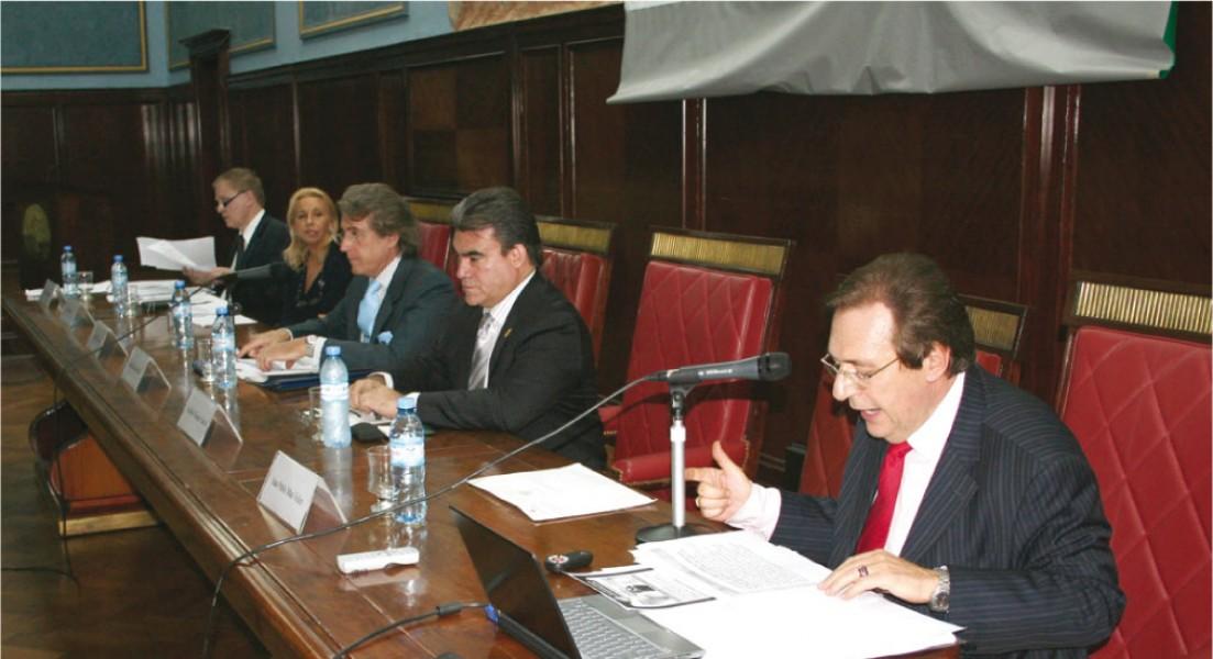 Dino Bellorio Clabot, Beatriz Krom, Daniel Roque Vítolo, Aquilino Vázquez García y Jorge A. Franza