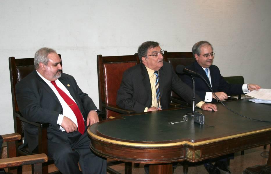 Marcelo Castrogiovanni, Juan Montero Aroca y Daniel H. Obligado
