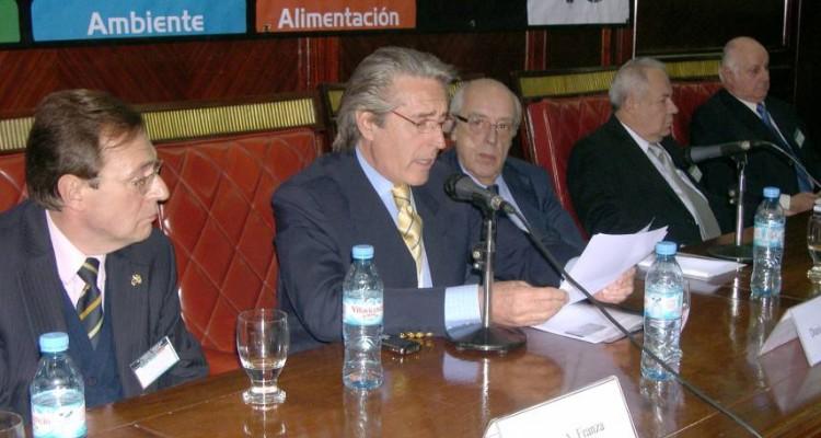 Jorge A. Franza, Daniel R. Vítolo, Atilio A. Alterini, Ricardo Zeledón Zeledón y Miguel Ángel de la Torre Mayoraz