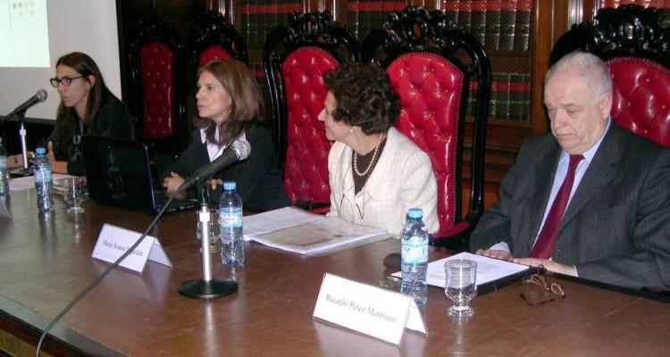 Marisa Herrera, Graciela Ferreyra de Tagle, María Susana Najurieta y Ricardo Pérez Manrique