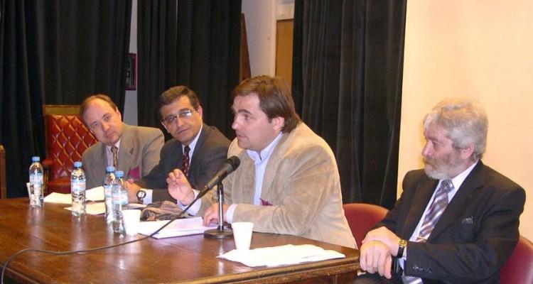 Gabriel H. Hughes, Daniel Villalón, Fernando Susini y Gregorio Flax