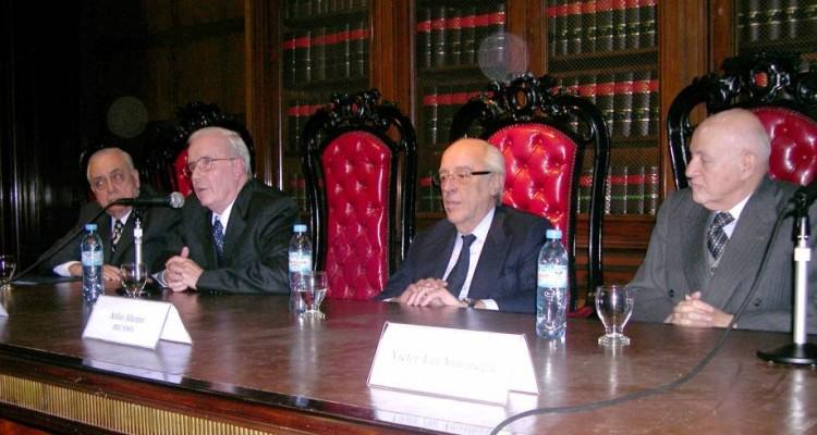José María Díaz Couselo, Tulio Ortiz, Atilio A. Alterini y Víctor Tau Anzoátegui