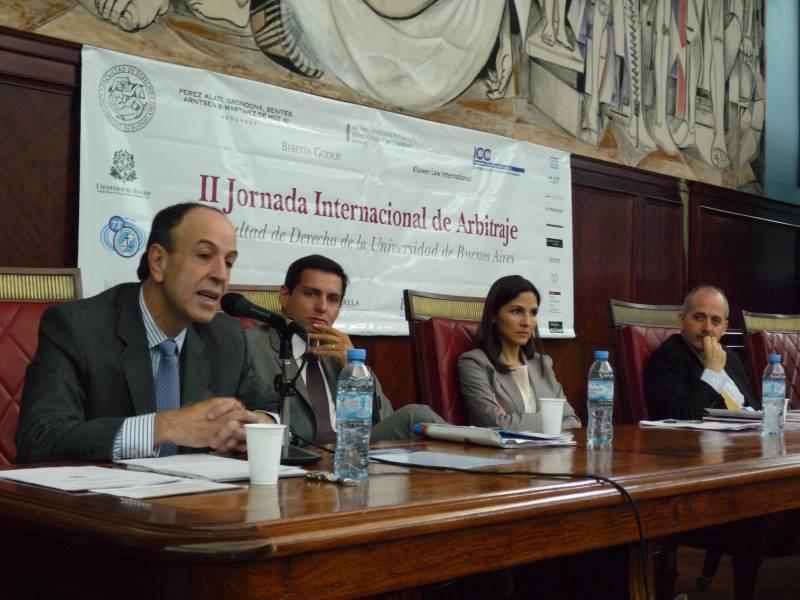 Eduardo Zuleta Jaramillo, Cristian Conejero Ross, Katherine González Arrocha y Guido Tawil