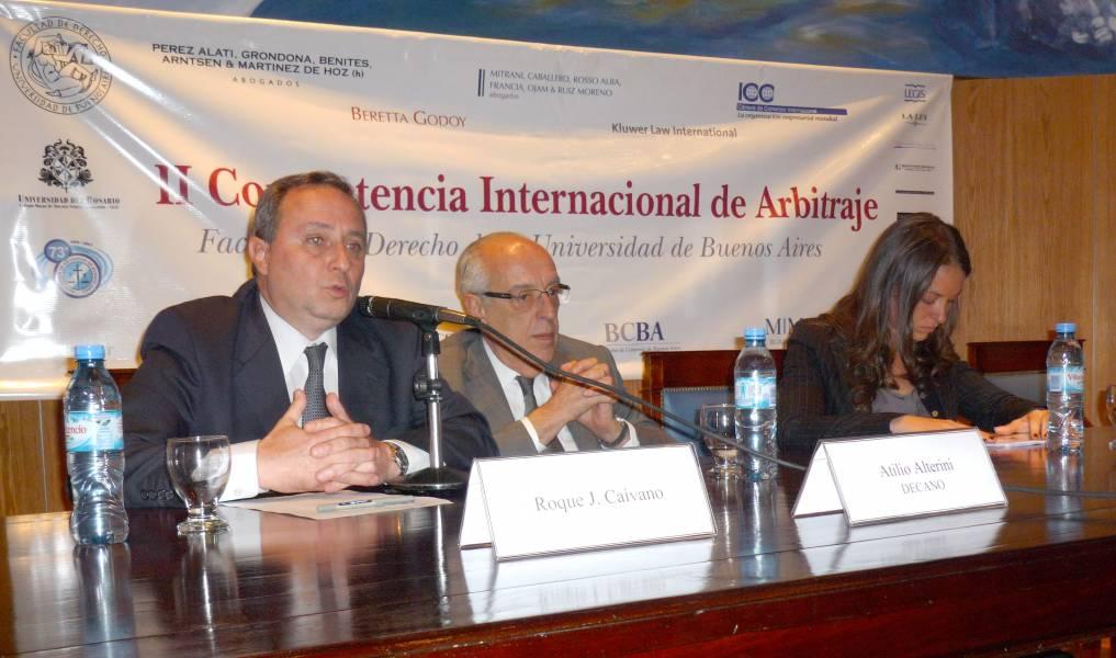 Roque J. Caivano, Atilio A. Alterini y Karen Kamelman
