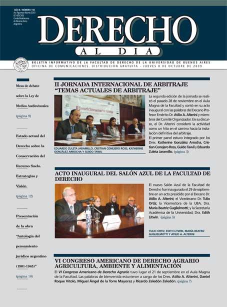 Tapa de Derecho al Día - Edición 150
