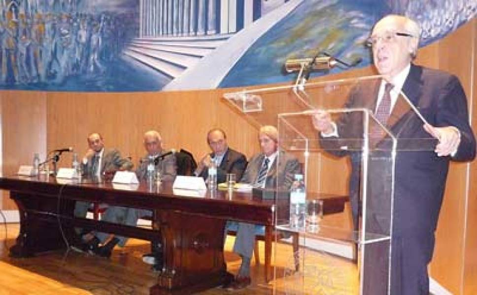 Gustavo Szarangowicz, Jorge Vanossi, Eugenio R. Zaffaroni, Gregorio Badeni y Atilio A. Alterini