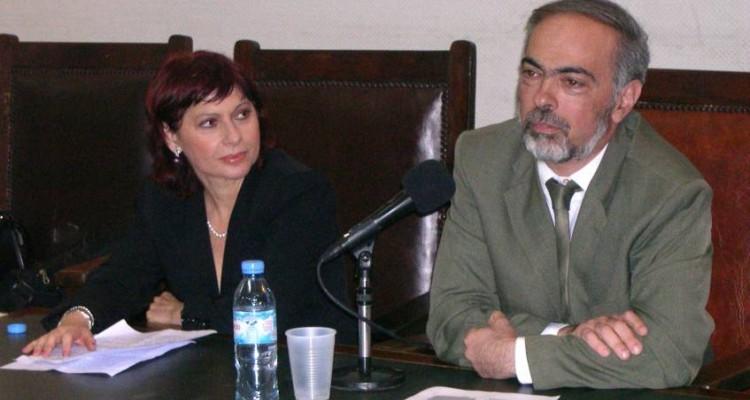 Viviana Kluger y Pablo Lerner