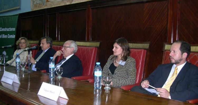 Elina María Tejerina, Guillermo Cartasso, Atilio Alterini, Ayelén Tomasini de Scorza y Ezequiel Abásolo